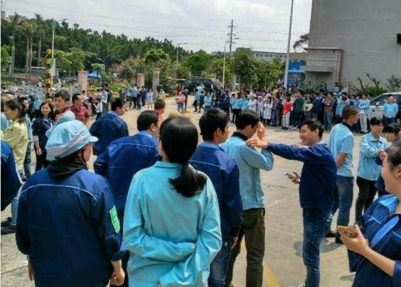 Three-week strike at Flex ends after Zhuhai trade union puts