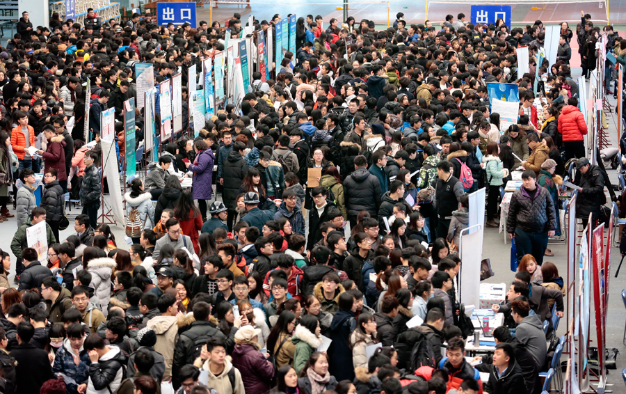 Job prospects look grim for Chinese college grads | China Labour